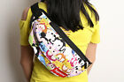 Lot tsum TSUM Canvas Backpacks Mickey & Minnie Cartoon Sport Messenger Bag