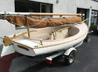 sailboat 15 ft. cat boat by Menger 2009 like new.