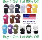 Ski Mask Motorcycle Cycling Balaclava Lycra Full Face Mask Neck Ultra Thin