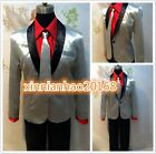NEW Suicide Squad Jared Leto Batman Joker Cosplay Costume Outfit Full Set #B.80