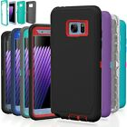 Samsung Galaxy S7 / S7 Edge Case Cover Shockproof Hybrid Hard Rugged Rubber TPU <br/> 100% Money Back Guaranteed - CHOOSE CORRECT Phone Model