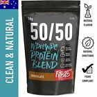 Whey Protein Powder 50/50 WPI WPC Blend Chocolate Vanilla Multiple Kg