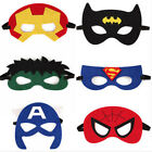 Captain Spiderman Eye Mask Fancy Dress Masks Cosplay Avengers Halloween Party