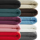 """PURE COTTON BRUSH THERMAL FLANNELETTE EXTRA DEEP 16"""" FITTED SHEET ALL SIZES"""