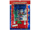 Metallic Christmas Gift Bags 21.9 (L) x 16.2 (W) x 2.5 (H) Import