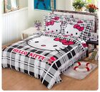 *** Hello Kitty Stay Real Single Bed Quilt Cover Set - Flat or Fitted Sheet ***