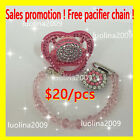 Pacifier Child Teething bling Pacifier clip Orthodontic Soother BPA 0% 6-18month