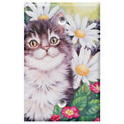 Cat with Daisies - Light Switch Covers Home Decor Outlet