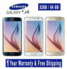 Samsung Galaxy S6 SM-G920 4G LTE  Factory Unlocked (1 Years Warranty)