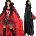 CA73 Leg Avenue Vampire Temptress Dracula Goth Gown Halloween Dress Up Costume