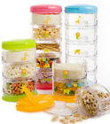 Innobaby Packin' Smart Stackable Snack Container - 5 Tier
