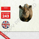 Rhino CARD FACE MASK MASKS FOR PARTY FUN HALLOWEEN FANCY DRESS UP