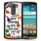 HOLIDAYS RUBBER CASE FOR LG G6 G5 G4 G3 HAPPY EVERYTHING CHRISTMAS HALLOWEEN