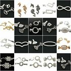 Quality Strong Magnetic/ Claw Jewellery Clasps Silver & Gold Plated Diamante