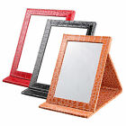 Fsahion Travel Folding Makeup Mirror Standing Mirror Alligator Pattern Choose