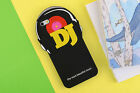 Cool Black DJ Soft Silicone Phone Case Back Cover For iPhone 5 5s SE 6 6s Plus