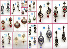 Choose Any Rhinestone Kundan Silver Gold Indian Bollywood Earring-Diwali Sale-11