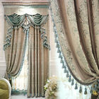 European luxury curtain Retro Jacquard Superb Process cloth curtain valance E483