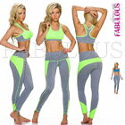 Sexy Women's Tracksuit Set Active Sports Gym Jogging Wear Pants Top Size 10 M