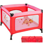 Portable Child Baby Infant Playpen Travel Cot Bed Crawl Play Area