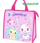 Sanrio Cooler Tote Bag Insulated Thermal Lunch Box Bento Food Container Case
