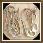 Persaonilzed Monogram Stainless Steel Necklace