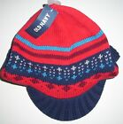 OLD NAVY Boys Hat Size 4T 5T FAIR ISLE Sweater Knit Brimmed Beanie Toddler NEW