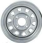 2-ITP Delta Silver Steel Wheel Front Yamaha 07-12 Grizzly 350 4x4 St Axle-371333
