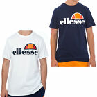Ellesse Quattro Venti Mens Retro Fashion T-Shirt Tee