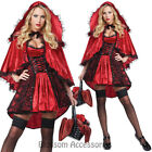CA113 Deluxe Little Red Riding Hood Storybook Fancy Dress Up Halloween Costume