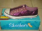 SKECHERS ROBERTSON CHECKEM SHOE SCHUHE ORIGINAL LILA (PVP IN SHOP 59EUROS)