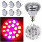 E27 5-18 LED Full Spectrum Grow Light Bulb Garden Plants Hydroponic Growing Lamp