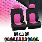 Faux Leather Front Car Seat Covers Set Luxury For Car Truck SUV
