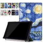 Slim Magnetic Leather Case Smart Cover For Amazon Kindle Fire HD 8 6th Gen 2016