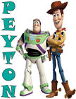 Custom Personalized Buzz Lightyear and Woody from Toy Story T Shirt or Creeper