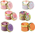 2 NEW BOMB COSMETICS SCENTED CANDLE TIN FRAGRANCE CANDLES TEA LIGHT