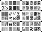 30Pcs Manicure BCN Nail Stamping Plates Stainless Steel Nail Art Stamp Templates
