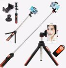 Bluetooth Selfie Stick Tripod Stabilizer 3in1 suit For Camera Gopro iPhone 6 6s