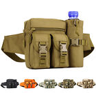 Men outdoor Nylon close-fitting tactical Military Travel Water Bottle Waist Bag