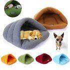 Pet Dog Cat Nest Bed Puppy Soft Cave House Winter Warm Sleeping Bag Mat Pad New
