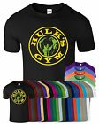 Hulk's Gym Mens T Shirt Bodybuilding Workout Weight Lifting Casual Gym T-Shirt