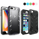 Apple iPhone 8 Plus / 8 / SE Case w/Drop Protection Dual-Layer Shockproof Cover