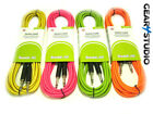 Guitar Lead/Cable: Electric/Electro-Acoustic/Bass/Instrument fluorescent Colours