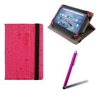 PINK GRAFFITI CASE & STAND FITS 7-7.9* INCH TABLET & OPTIONS CHECK DROP LIST! E1