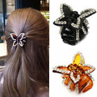 Butterfly Rhinestone Claw Hairpin Women Hair Clamp Accessory Clip Beautiful New