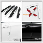 4 Pcs Car Side Door Edge Defender Protector Rubber Trim Guard Protection Strip