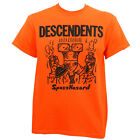 Authentic DESCENDENTS Spazzhazard T-Shirt Orange S M L XL 2XL NEW