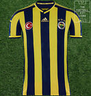 Fenerbahce Home Shirt - Official Adidas Short Sleeved Mens Jersey - All Sizes