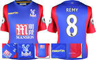 16 / 17 - MACRON CRYSTAL PALACE HOME SHIRT SS + PATCHES / REMY 8 = SIZE*