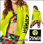 Zumba All Meshed Up Instructor Zip Up Jacket - Zumba Green Z1T01284